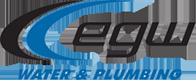EGW Water And Plumbing Logo